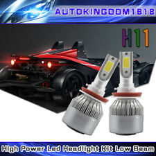 LED CREE  Headlight Kit H8 H9 H11 980W 147000LM 6000K Low Beam Fog Bulb HID