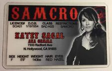Gemma - Katey Segal - Sons Of Anarchy / SAMCRO - Novelty Drivers License
