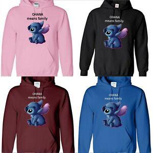 LILO & STITCH OHANA MEANS FAMILY Disney  boy girl kids men women adult hoodie