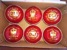 .6 Practice Cricket Balls (142gm) - Outdoor