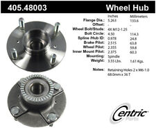 Wheel Bearing and Hub Assembly-Premium Hubs Rear Centric 405.48003