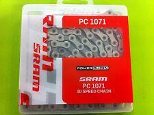 Catena SRAM PC 1071 10v MTB/Strada con Power Lock Sram/Shimano compatibile
