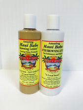 Maui Babe Indoor Beach Pack-Salon Formula Indoor Browning Lotion/After Sun Care