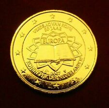 2 EURO COMMEMORATIVE PAYS-BAS 2007 DORE OR FIN 24 CARATS