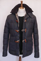 rare £300 Mens Barbour Skipsea navy hooded parka jacket S Small 36