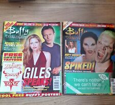 More details for buffy the vampire slayer magazines issue 40 & 66 with original free gift