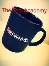 FACOM TOOLS ADVERTISING LOGO BLACK FULLSIZE CUP MUG * NEW * COFFEE TEA