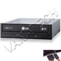 MASTERIZZATORE LG INTERNO PER PC SATA GH24NSD1 DUAL LAYER CD DVD NERO BULK GLS