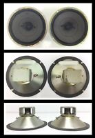 "Pair 6"" Vintage Japan Replacement Mid Range Criterion Speakers 3X 99-0176wx"