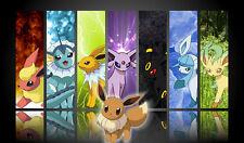 Pokemon GO Eevee Eeveelutions GENERATIONS Custom Playmat #23 FREE SHIPPING