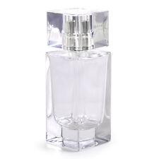 Cosmetic Empty Perfume Bottle Rectangle Glass Atomizer 50ml Spray Bottle