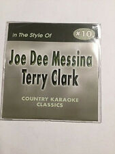 Country Karaoke Classic inThe Style Of Joe Dee Messina Terry Clark #10 17  Songs