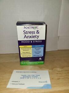 Natrol Stress & Anxiety Day & Night 60 Tablet Total Mood&Stress Vegetarian