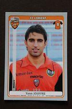 Vignette Sticker PANINI Foot 2011 2012 N°215 YANN JOUFFRE FC LORIENT