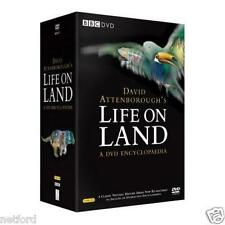 LIFE ON LAND A DVD ENCYCLOPAEIDIA DAVID ATTENBOROUGH 15 DISC DVD BOX SET R4 NEW