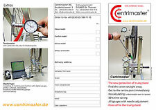 Truing Stand Centrimaster Product Information Flyer
