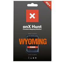 onX Premium Maps GPS Chip Landowners & Property Boundaries for Garmin - WY