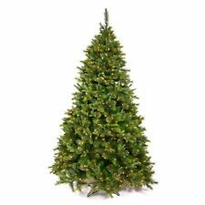 Cashmere Pre-lit Christmas Tree, Green
