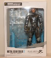 Metal Gear Solid 2 Square Enix Play Arts Kai Raiden 11in Action Figure