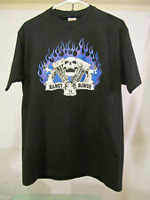 "Haney Hawgs 74 Or More Maple Ridge BC Canada ""Harley"" Tee Shirt USA Made Size M"