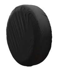 "15"" DIY trailer Spare tire tyre Wheel Cover Pure black T150049PB brand new"