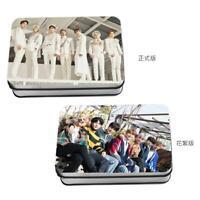 Kpop Monsta X Album WE ARE HERE Polaroid Lomo Photo Card HD Collective Photocard