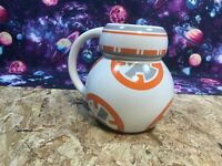 Disney Store Ceramic BB-8 Star Wars Coffee Mug Lucas Films The Force Awakens