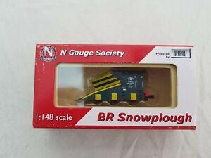 Dapol N gauge society ngk 42-3 snowplough