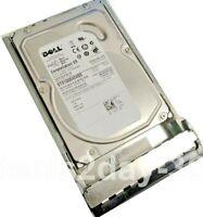 "Dell 1TB 6G 7.2K 3.5"" SAS U738K 0U738K HDD Hard Drive W/ Tray"