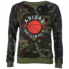 adidas Crew Neck Hoodies & Sweats for Women