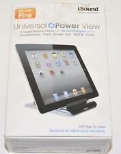iSound Universal Power View Charging Stand for iPhone, iPad, iPod, Android Pho
