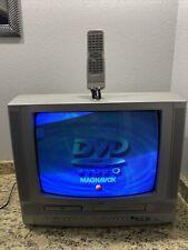 "Magnavox 19Mdtr20 19"" Crt Tv/Dvd/Vcr Combo Retro Video Gaming/Serviced/Remote"
