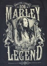 Zion Rootswear Bob Marley Kingston Jamaica Graphic Tee Adult Mens Size Small