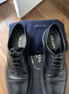 Prada Mainline Black 2021 Shoes   New 780 Euro