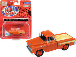 Classic Metal Works HO Scale 1957 Chevy Cameo Truck Omaha Orange