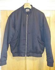 Mens ASOS Bomber Jacket, Black, size L