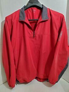 PGA Tour Mens Large Golf Jacket Long Sleeve Pull Over