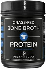 Bone Broth Protein Powder with Collagen Peptides by Organisource (15.7 ounces)