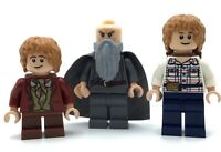 LEGO LOT OF 3 LORD OF THE RINGS MINIFIGS HOBBIT BILBO BAGGINS LOTR