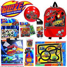 Blaze 20 Kids Showbag w/Backpack/Dough/Playmat/Stamper/Bottle/Ball/Puzzle/Tote