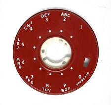 NOS Red Dial Bezel for #7A Dials