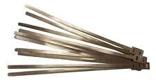 Lambretta Vespa cableado Cable del telar lazos de aleación X 10 Nueva Serie De Diez Aluminio