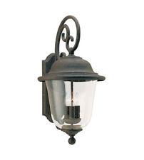 Sea Gull Lighting Trafalgar 3 Light Outdoor Wall Lantern, Bronze