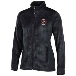 Stanford Cardinal NCAA Full Zip Women's Team Logo Flurry Jacket by Champion