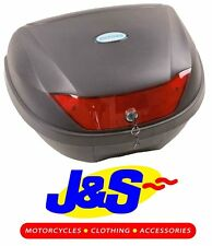 OXFORD PRODUCTS OL200 24 LITRE TOP BOX MOTORCYCLE MOTORBIKE LUGGAGE BLACK J&S