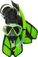 Cressi Bonete Bag Light Weight Travel Fun Snorkeling Set
