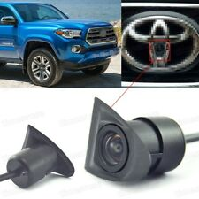 HD CCD Car Front View Camera Logo Embedded for Toyota Pickup Tacoma 2016-2018