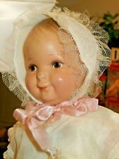"1920 Grace Corry Rockwell Madame Hendren 13"" Character Doll Composition & Cloth"