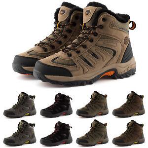 Neu Herren Damen Outdoor Boots Wanderschuhe Gefüttert 36-49 Trekking 2059 Schuhe