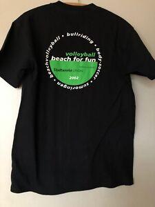 Damen   Beachvolleyball  Shirt Volleyball   Trikot  Größe S schwarz  2002 Lindau